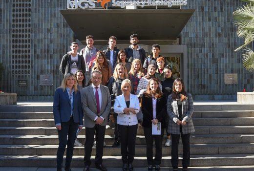 MGS visita colegio LluisaCura