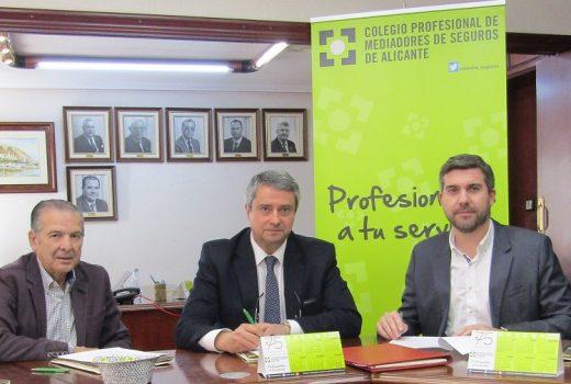 Acuerdo Plus Ultra Seguros y Colegio Profesional de Mediadores de Alicante