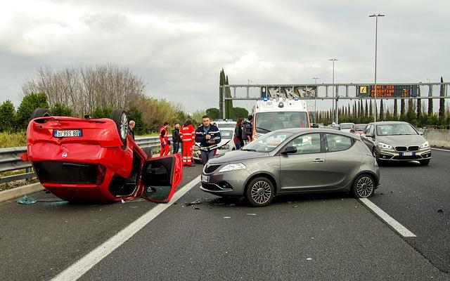 siniestro autos accidente coche