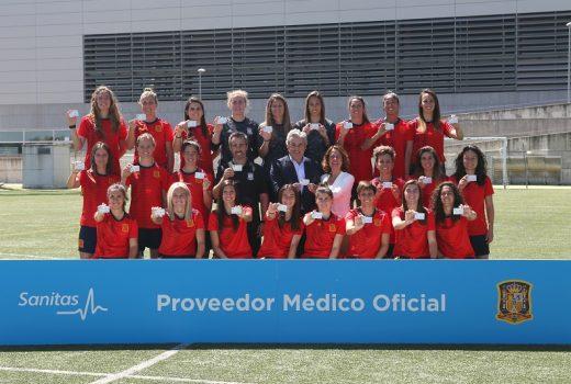 Sanitas_Selección Española de Fútbol Femenino