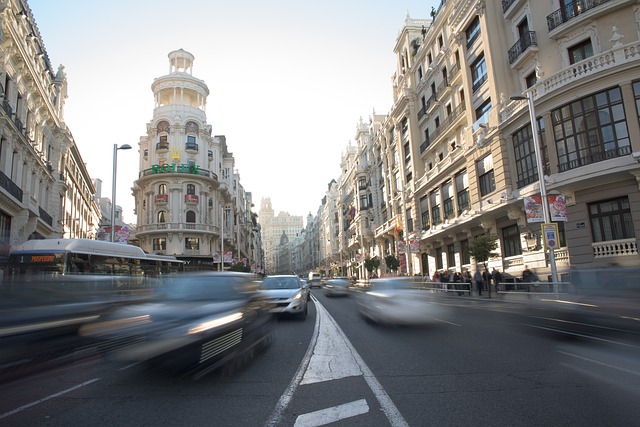 madrid autos coches calle