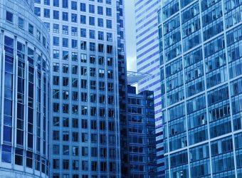 oficinas, edificios, rascacielos