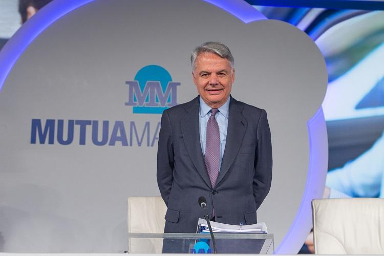 MUTUA MADRILEÑA Ignacio Garralda, presidente de Mutua Madrileña