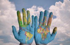 mundo mundial global manos