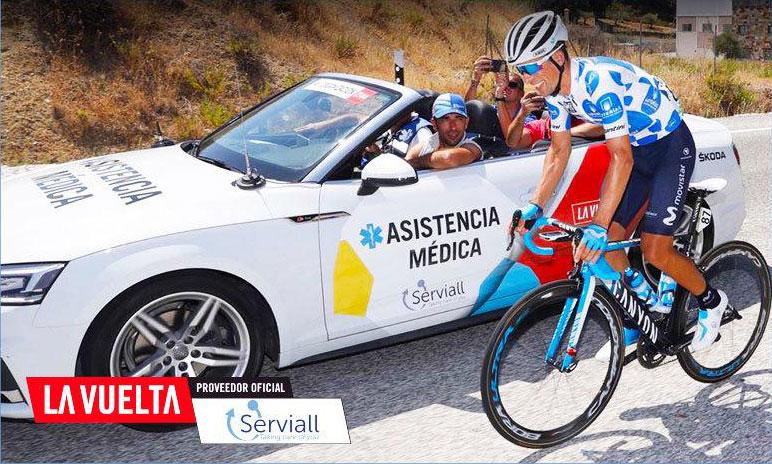 Serviall será por tercer año consecutivo el ángel de la guarda de La Vuelta