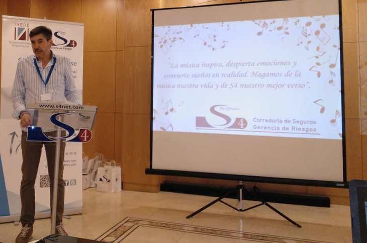 S4 Alfredo Blanco CEO de S4 inaugurando la Convención Anual 2019