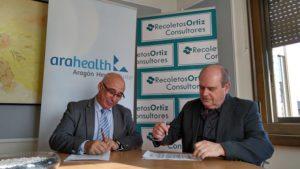 Cluster Arahealth firma un acuerdo con Recoletos Consultores para la gestión de riesgos de sus socios