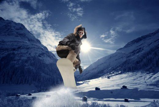 nieve snowboard