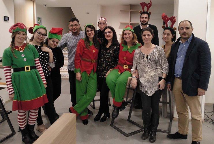 Grupo S4 Fiesta Navidad
