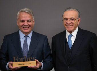 Ignacio Garralda (izqda) e Isidro Fainé