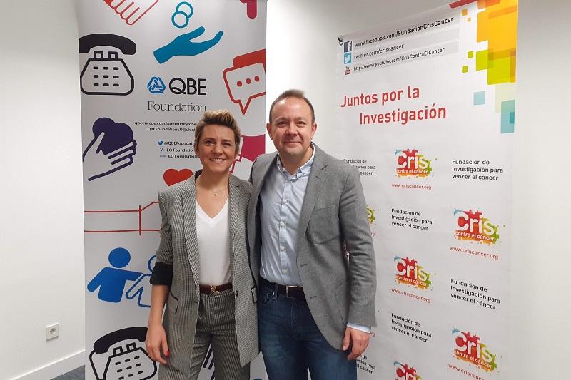 Patricia Puerta_Directora General QBE España y Leo Cañadilla_Director Empresas y Fundaciones