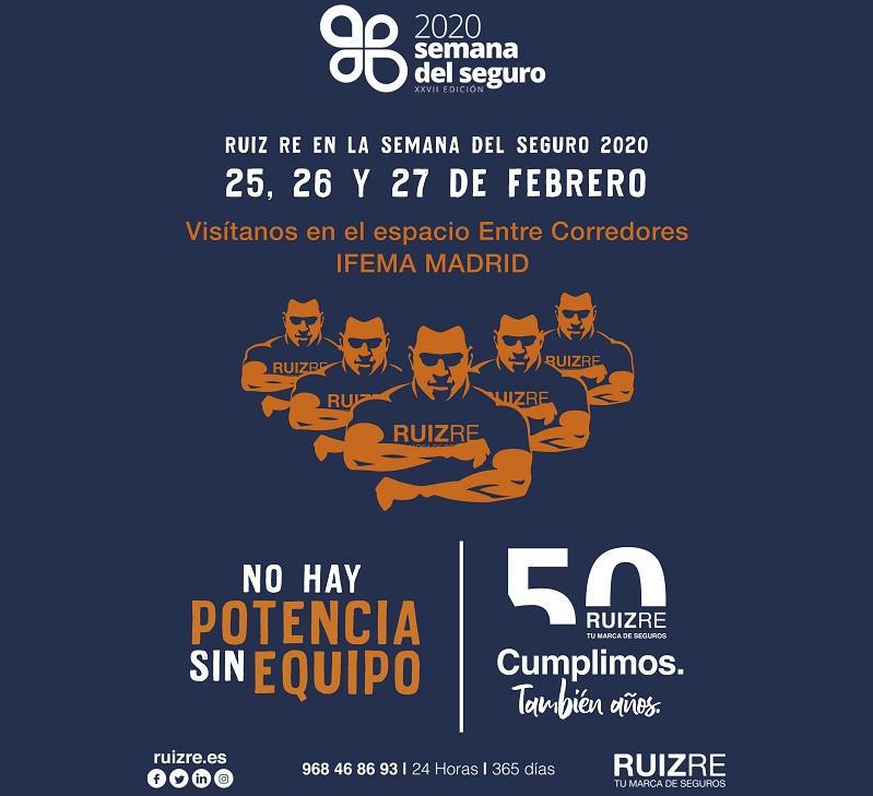 Ruiz Re estará en IFEMA en la Semana del Seguro 2020