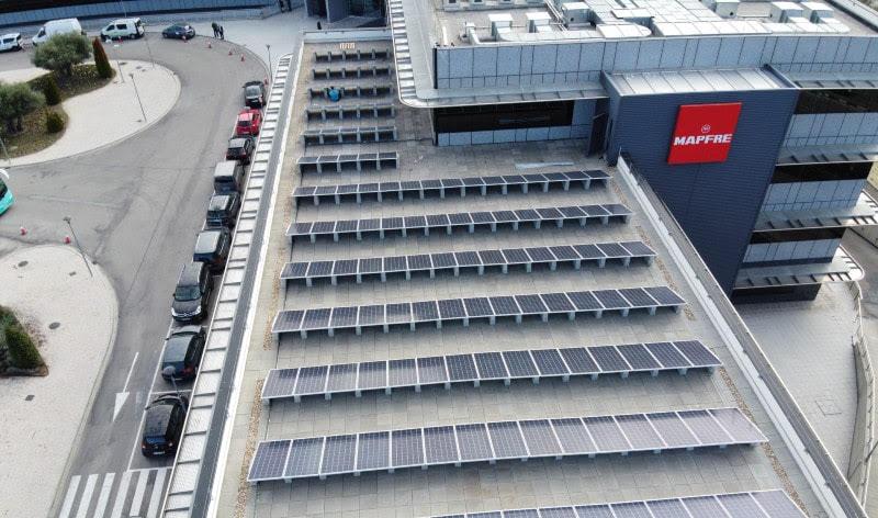 paneles solares mapfre
