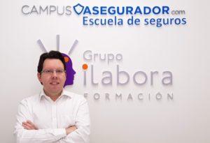 """Carlos Fernández (Campus Asegurador): """"Es una satisfacción aportar desde Apromes un gran valor a la formación aseguradora"""""""