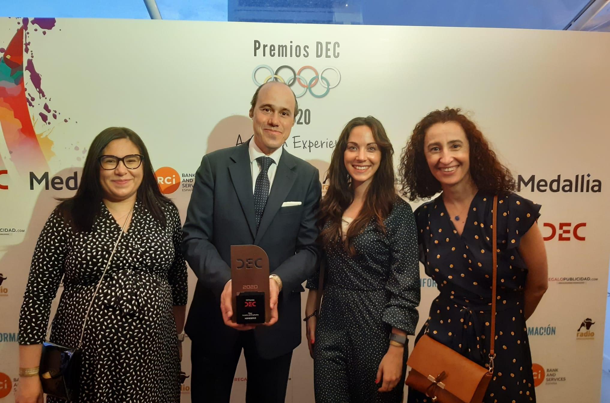 Ceremonia de entrega_Premios DEC_HomeServe