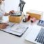 Shipment Online Sales, Small business or SME entrepreneur owner