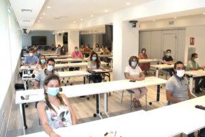El Colegio de Valencia celebra el examen final del Curso Superior para el Grupo A