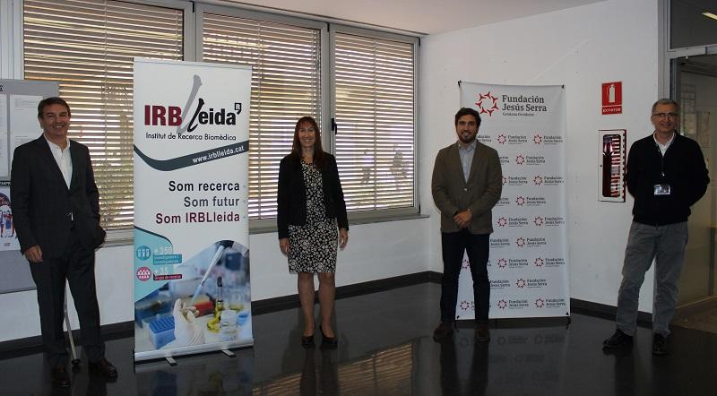 Acuerdo Fundación Jesus Serra e IRBLleida