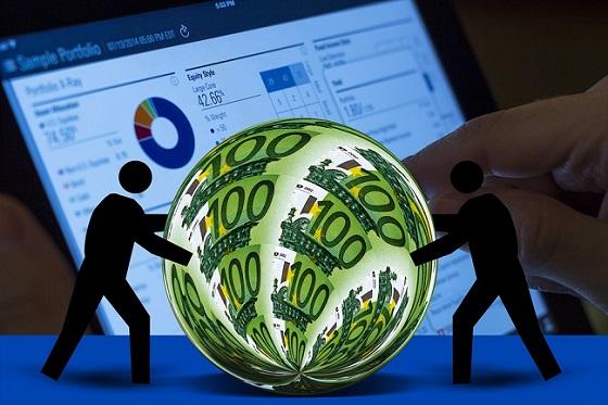 dinero economía global mundial