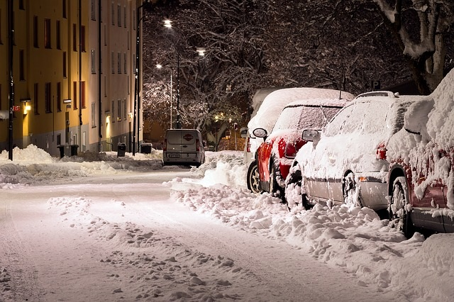 nieve temporal coches nevada