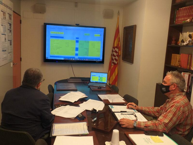 Colegio Girona asamblea