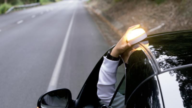 Reale Help Flash en carretera
