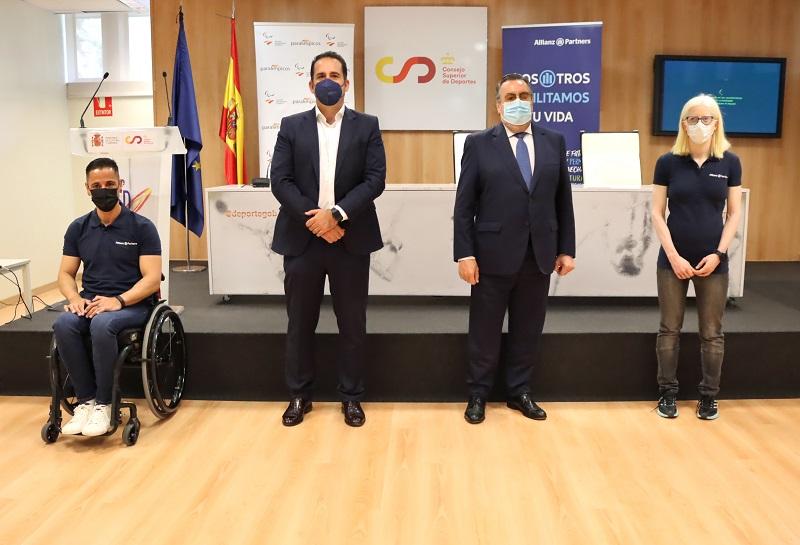Firma Comité Paralímpico Español - Allianz Partners