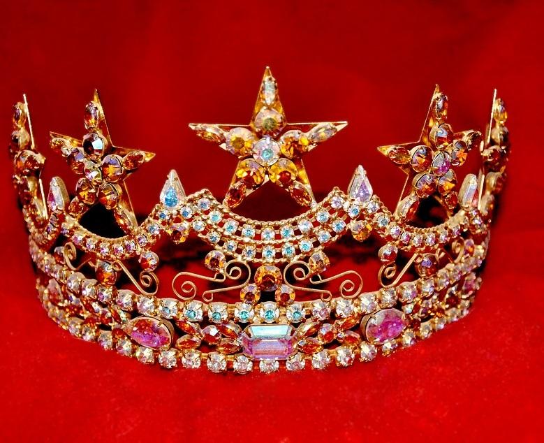 tiara diamantes
