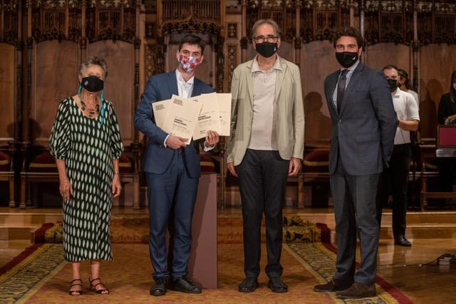 Entrega del Primer Premio Fundación Jesús Serra, Concurso Internacional Maria Canals
