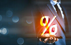 percent sign percentage icon interest rate