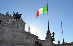 Italia bandera Roma